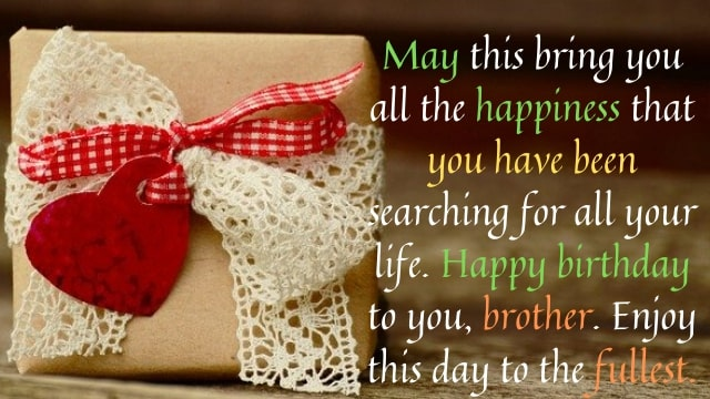 Birthday Quotes for Brother - Happy Birthday Wishes images