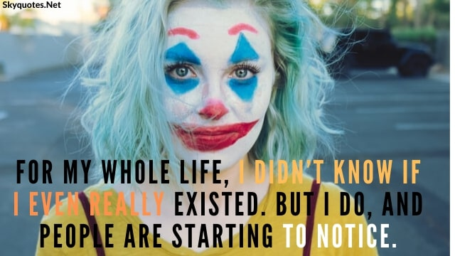 Joker Attitude Quotes - Thoughts | Dialogues | Best Quotes Of All Time