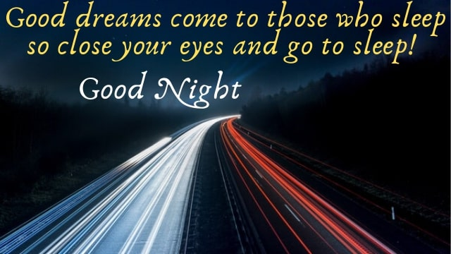 Sweet Goodnight With Messages | My Love Quotes