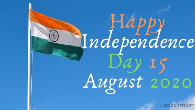 Independence Day Quotes 2020 15 August in Hindi - English With Images