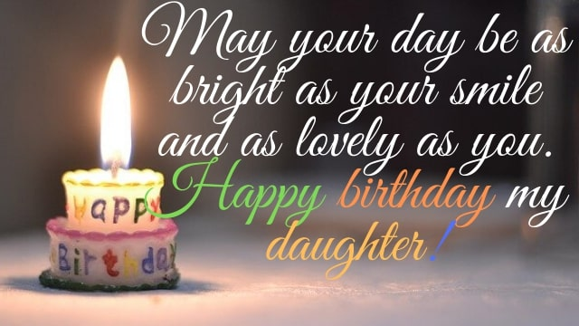 Happy Birthday Quotes For Daughter - HD Images Download Free