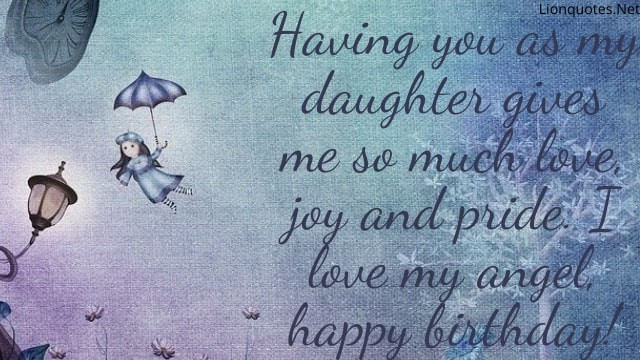 Birthday Quotes For Father From Daughter Birthday Wishes For Daughter