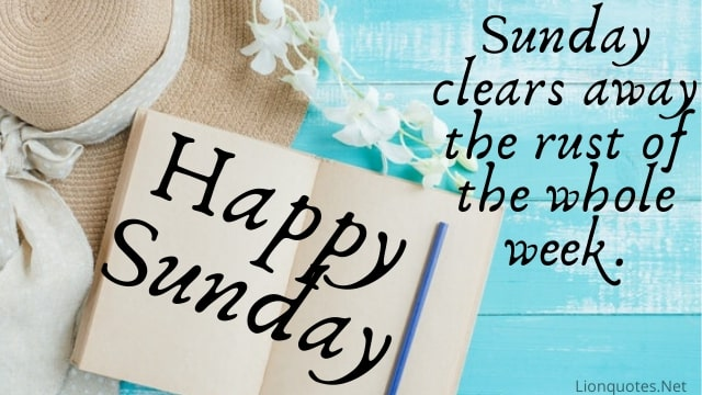 Sunday quotes - Happy | Good Morning Sunday images | Blessings | Night