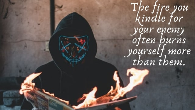 quotes on fire