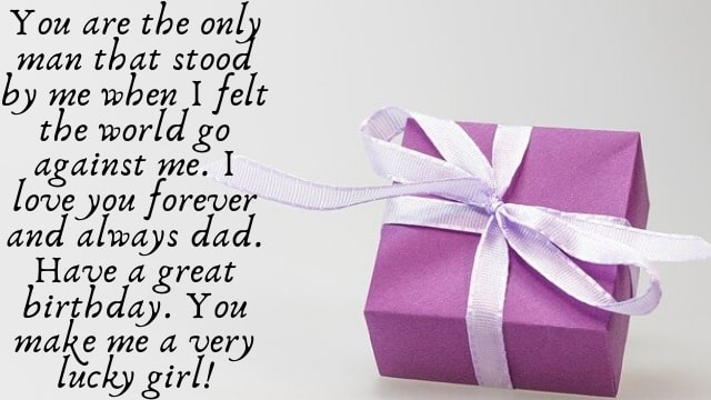 Birthday Quotes For Father From Daughter - birthday wishes for daughter