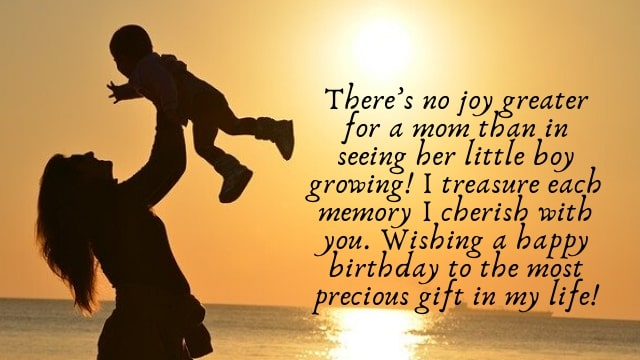 Birthday Wishes Quotes Form Mom