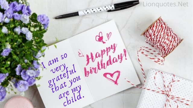happy birthday quotes for son