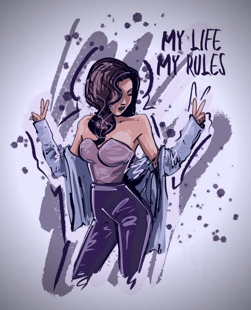 My Life My Rules Quotes With Images - English Status About Life