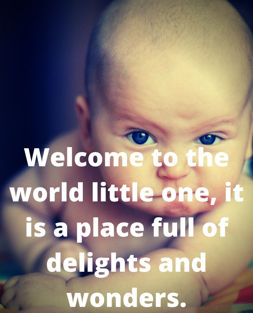 New Baby Born Status - Welcome Status For New Born Baby
