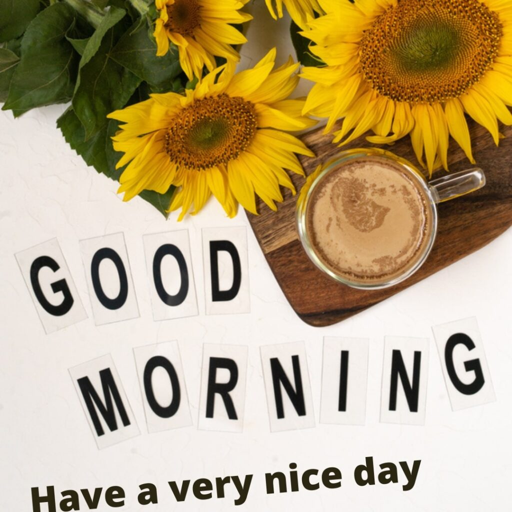 Coffee With Good Morning Image